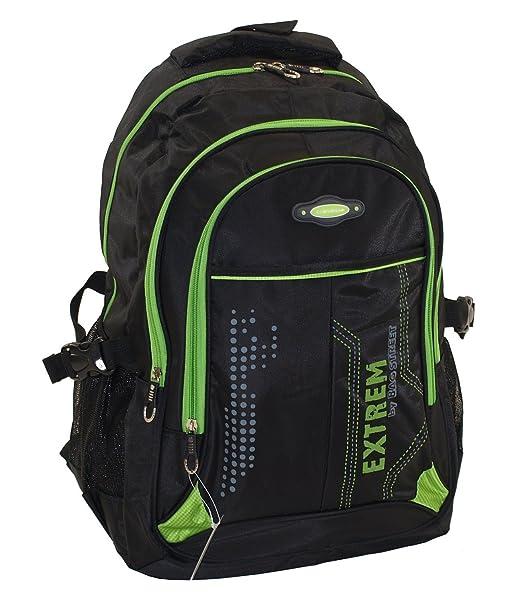 Gran Hombre - Bolso mochila escolar y marca funda Bag Street trabajo Funda: Amazon.es: Equipaje