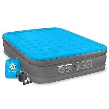 Amazon.com: Air comfort Camp mate colchón de aire inflable ...