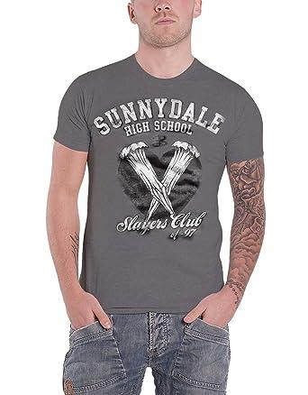 81210fcbbdeb6 Amazon.com: Buffy The Vampire Slayer T Shirt Sunnydale Slayers Club ...
