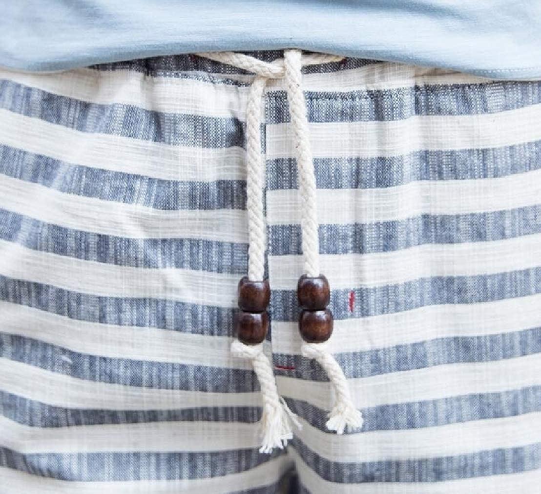 GRMO Men Plus Size Swim Trunk Cotton Stylish Beach Casual Swim Trunk