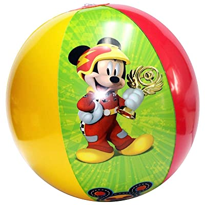 Mickey Mouse & Friends Disney Inflatable Beach Ball: Toys & Games