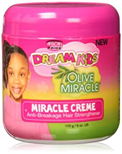 African Pride Dream Kids Olive Miracle Creme, 6 Ounce