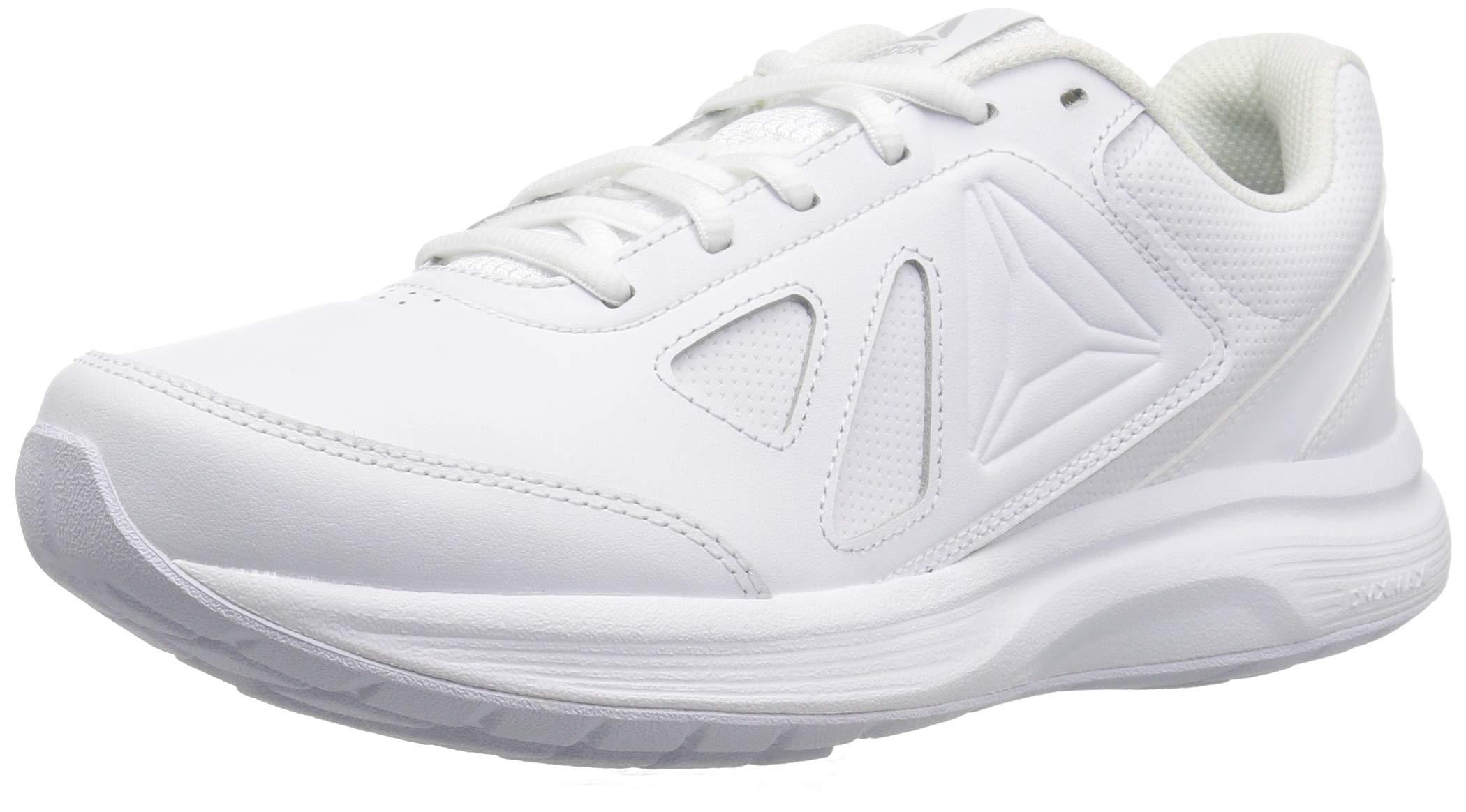 Reebok Women's Walk Ultra 6 DMX Max Shoe, White/Steel, 8.5 M US by Reebok