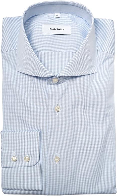 Paul Rosen - Camisa casual - Cuadrados - Cutaway - para ...