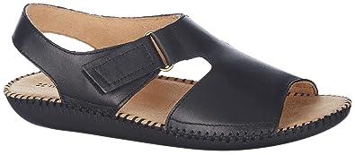 153e5bba812b Naturalizer Womens Scout II Sandals 5 Black