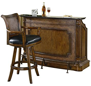 American Home Barstuhl Holz Braun 64 X 61 X 117 Cm Amazonde