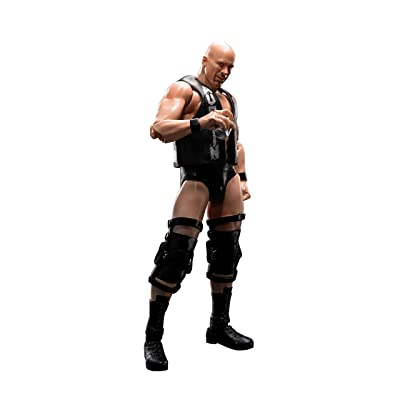 "Bandai Tamashii Nations S.H. Figuarts Stone Cold Steve Austin ""WWE"" Action Figure: Toys & Games"