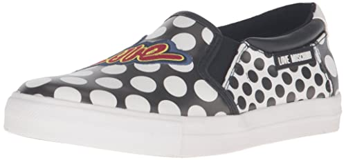 285a2a29102 Moschino Love Women s Printed Skater Fashion Sneaker