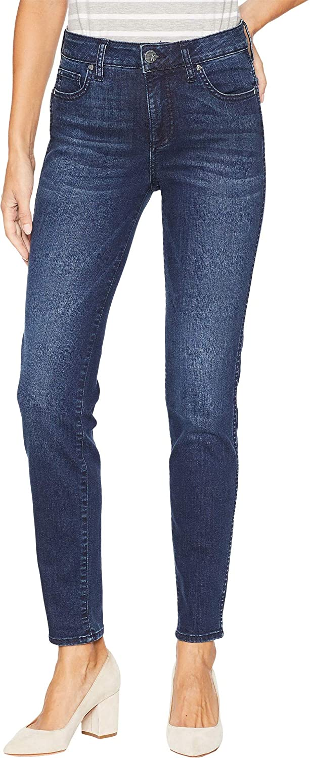Hold Dark Stone Base Wash KUT from the Kloth Womens Diana Fab Skinny Jeans in Hold