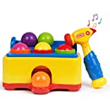 Bambiya Pound a Ball Game with Hammer and 6 Balls -Baby Toy with Fun Lights and Sound Effects - Hours of Fun and Skills…