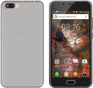 Tumundosmartphone Funda Gel TPU para DOOGEE Shoot 2 Color Transparente: Amazon.es: Electrónica