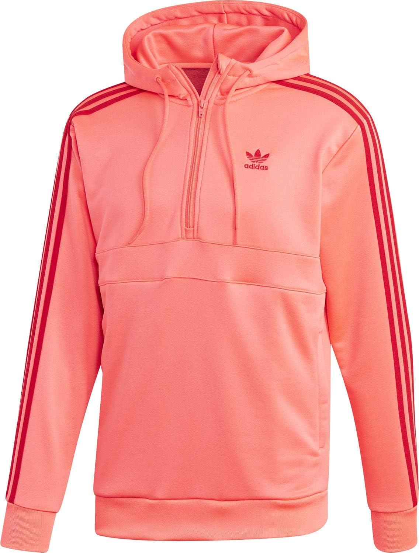 adidas 3 Stripes HZ Sweat à Capuche Flash Red: