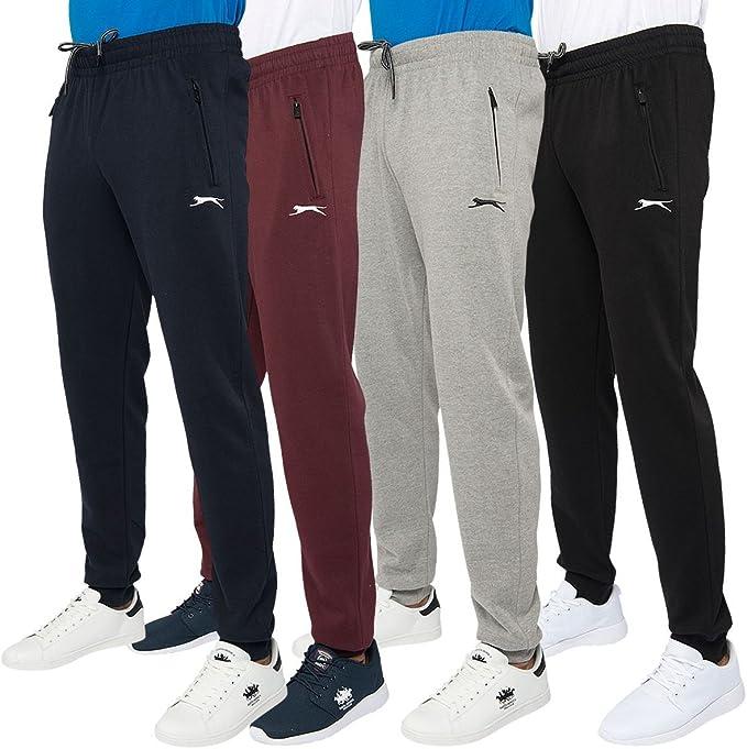 Slazenger Pantalones de chándal Hombre, Ajustados, con cordón ...