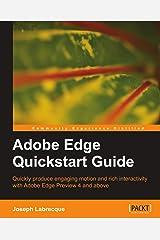 Adobe Edge Quickstart Guide Paperback