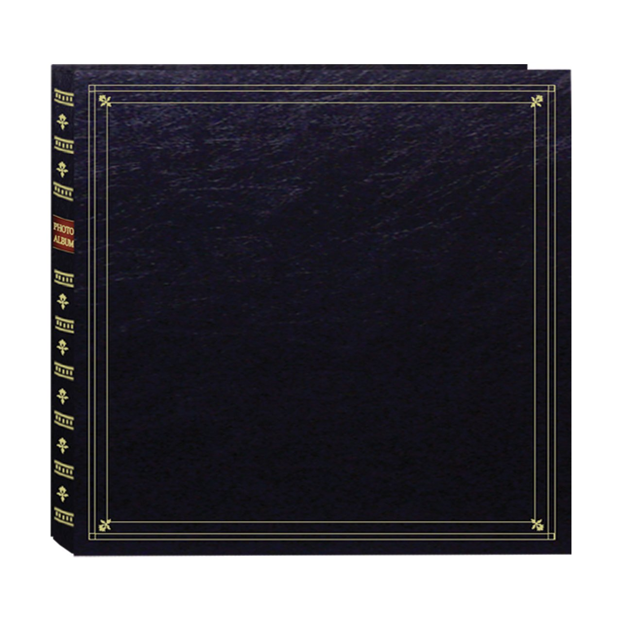 Pioneer Photo Albums 300-Pocket Post Bound Leatherette Cover Photo Album for 3.5 by 5.25-Inch Prints, Black by Pioneer Photo Albums