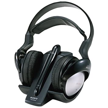 sony wireless headphones. sony mdr-rf960rk 900 mhz rf wireless headphones with auto tuning (discontinued by manufacturer w
