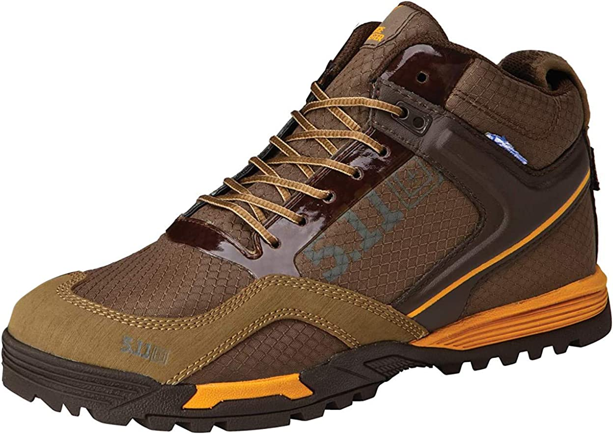 5.11 Tactical Waterproof Range Master Boots, BBP-Resistant Membrane, Ripstop Nylon, Style 12309