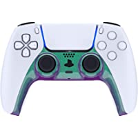 eXtremeRate Chameleon Green Purple Decorative Trim Shell for DualSense 5 Controller, DIY Replacement Clip Shell for PS5…