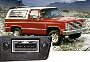 Custom Autosound Stereo Compatible with 1973-1988 Chevrolet Suburban Blazer, USA-630 II High Power 300 watt AM FM Car Stereo/Radio with Auxiliary Input