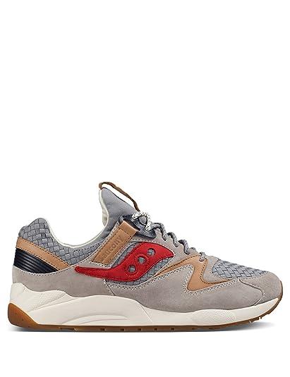 deacc8bdb900 Saucony Originals Men s Grid 9000 Grey Sneaker  Buy Online at Low ...
