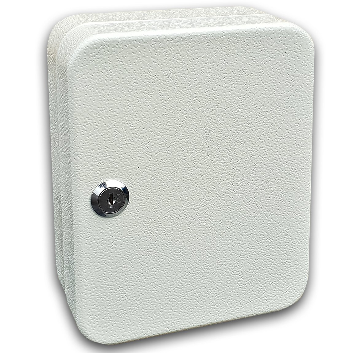 Para casa u oficina Con 20 ganchos e identificadores Futura/® Armario llavero de pared 200 mm x 160 mm x 70 mm