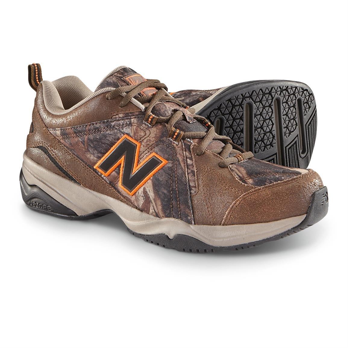 New Balance Men's MX608v4 Training Shoe, Universal Camo Print, 8.5 4E US