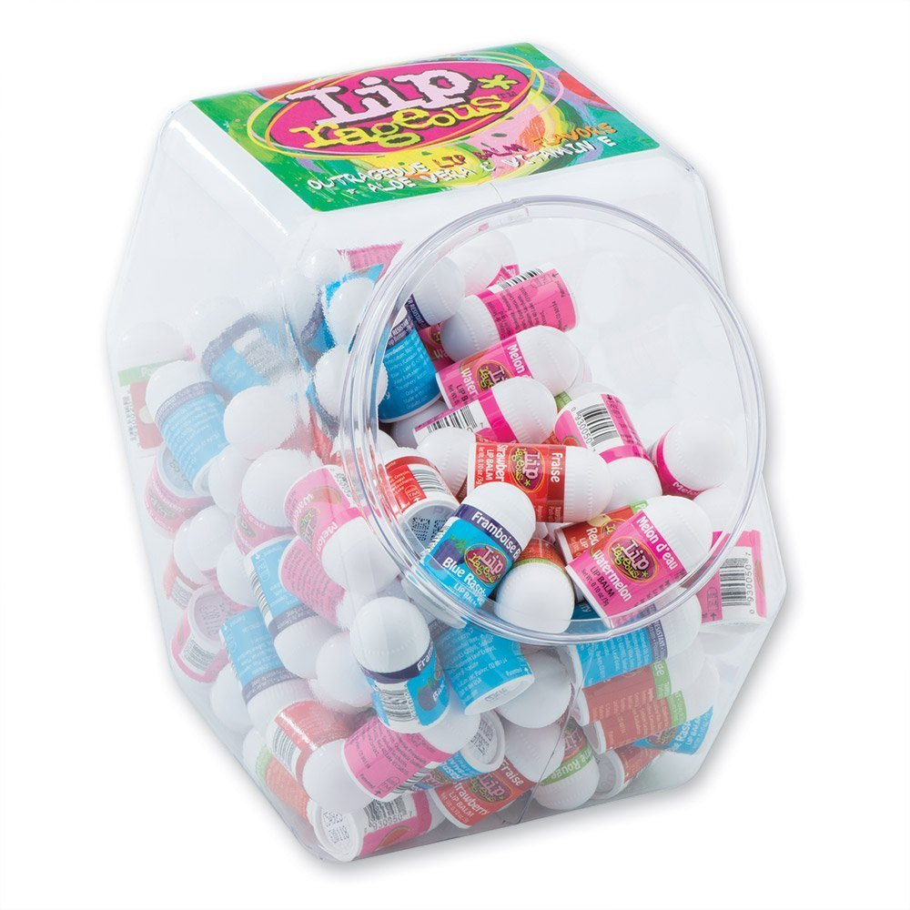 Lip Rageous Assorted Lip Balm -120 Count by SmileMakers B00LA6FA8K