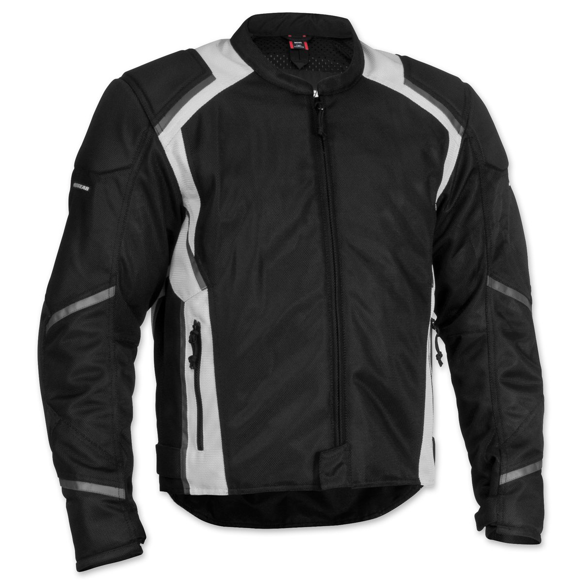 Firstgear Men's Mesh Tex Black Jacket, M