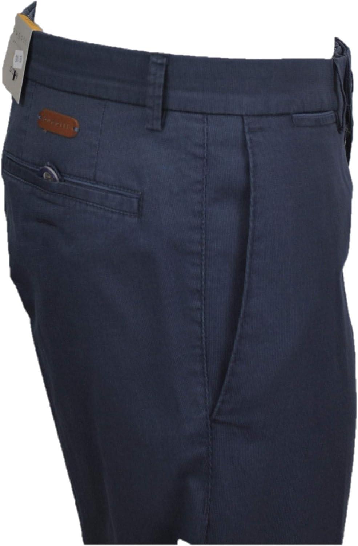 BUGATTI Pantalon stretch P-E Art.56303-1423 380 Blu