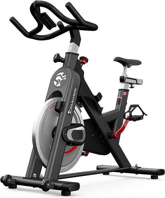 Tomahawk Indoor Bike IC2 - Bicicletas estáticas y de Spinning para Fitness: Amazon.es: Deportes y aire libre