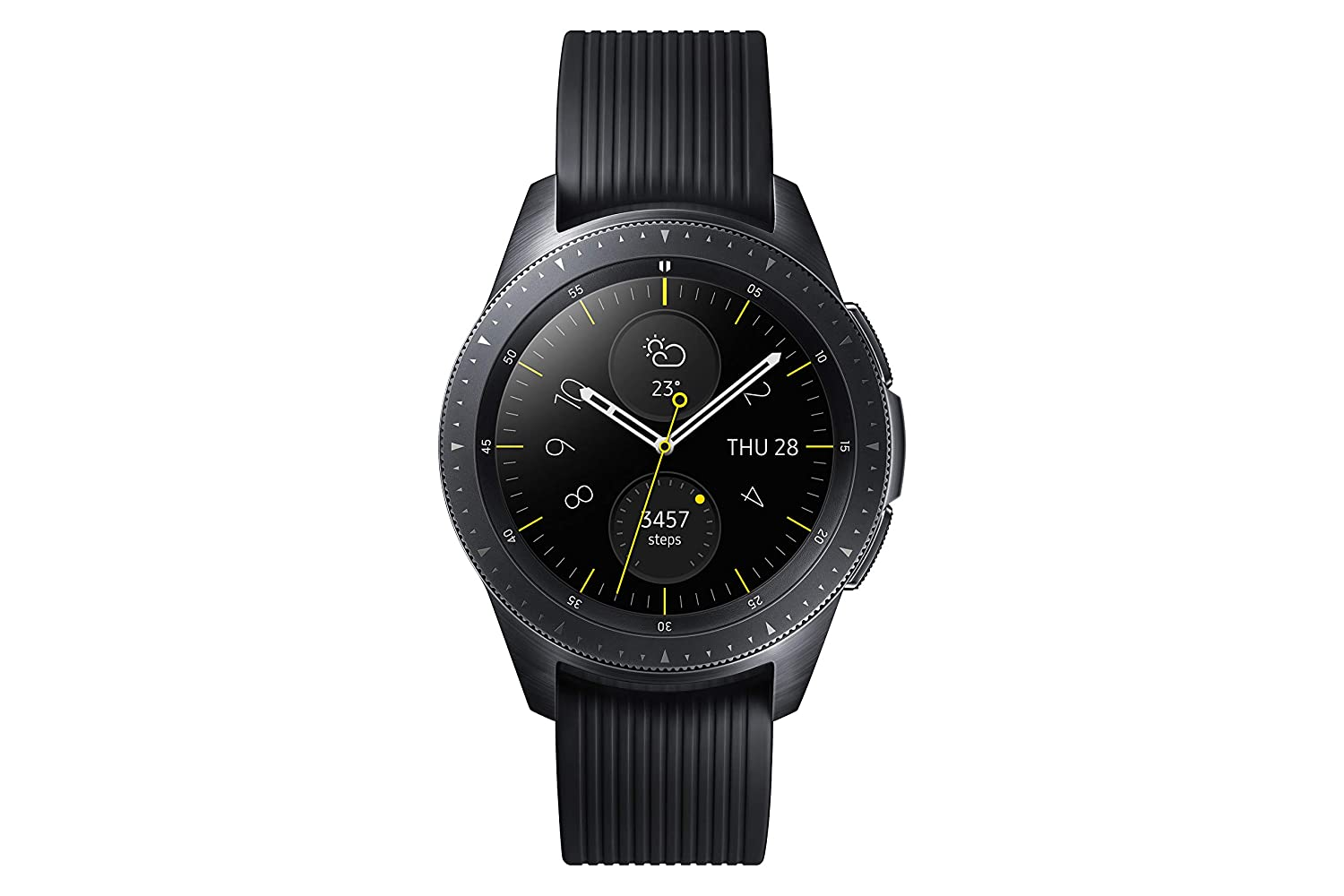 TALLA 42 mm. Samsung Galaxy - Reloj inteligente, Bluetooth, Negro, 42 mm