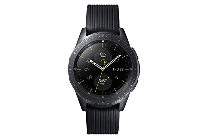 "Samsung Galaxy Watch Reloj Inteligente Negro AMOLED 3,05 cm (1.2"") GPS"