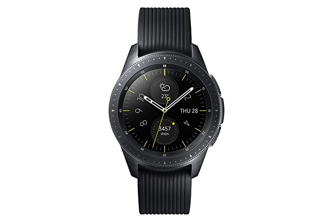 Samsung Galaxy - Reloj inteligente, Bluetooth, Negro, 42 mm ...