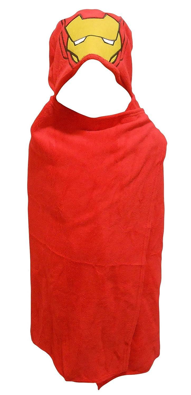 Marvel Iron Man Childrens Hooded Cuddle Blanket Robe Hunter Price