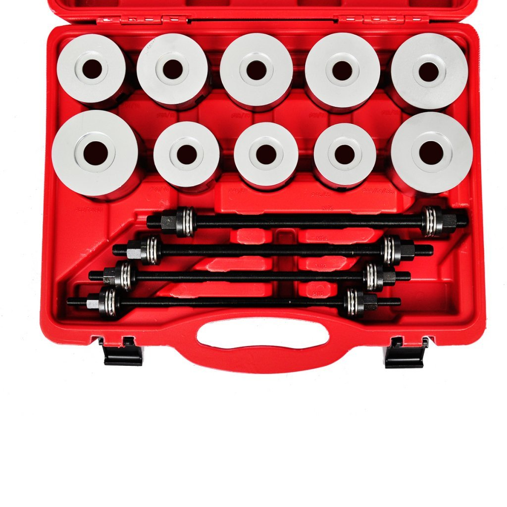 Anself 27pc Press Pull Sleeve Kit Bush Bearing Removal Insertion Tool Set by Anself (Image #5)
