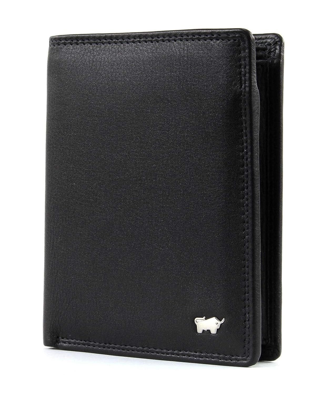 Men/'s Genuine Leather Braun Buffel Big vertical Wallet