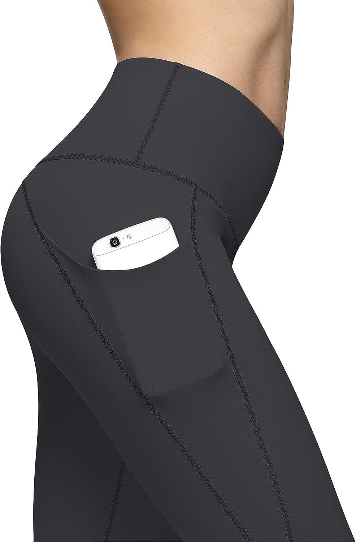 Pocket Yoga Pants Tummy Control Workout Pants 4 Way Stretch Pocket Leggings HKJIEVSHOP High Waist Yoga Pants