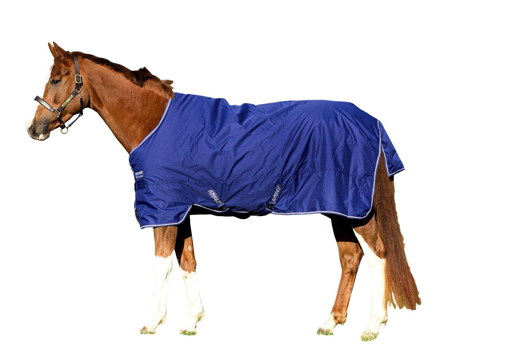 Horseware Amigo Hero 900 Turnout Sheet Lite 0g Blue/Ivory 78 by Horseware
