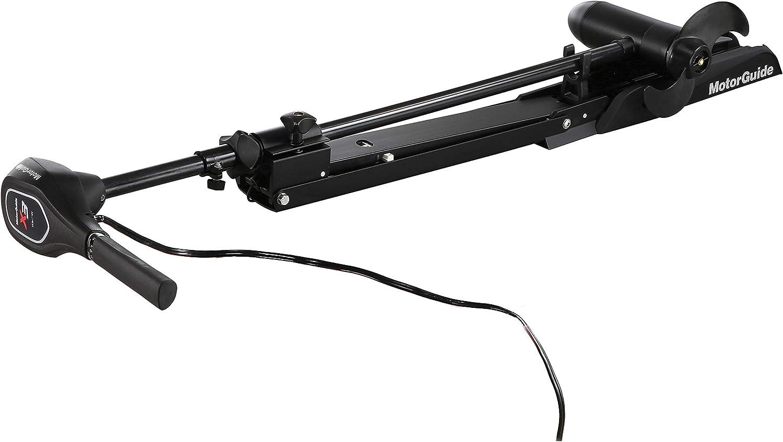 MotorGuide 940200230 X3-55FW Hand Control Pontoon Bow Mount - Digital - 55lbs-50-12V