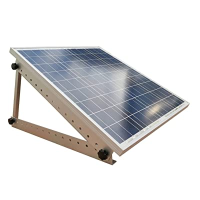 "Adjustable Solar Panel Mount Mounting Rack Bracket with Large 28"" Mounting Arms - Boat, RV, Roof Off Grid: GPS & Navigation"