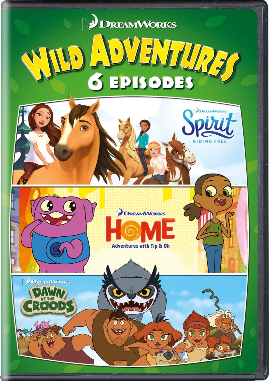 DVD : Dreamworks 6 Wild Adventures (DVD)