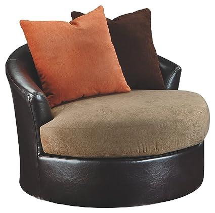 Merveilleux Signature Design By Ashley 2020244 Swivel Accent Chair