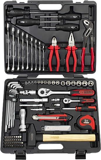 KS Tools 911.0703 ECOLINE-CHROMEmat-103 - Estuche de llaves de vaso (1/4