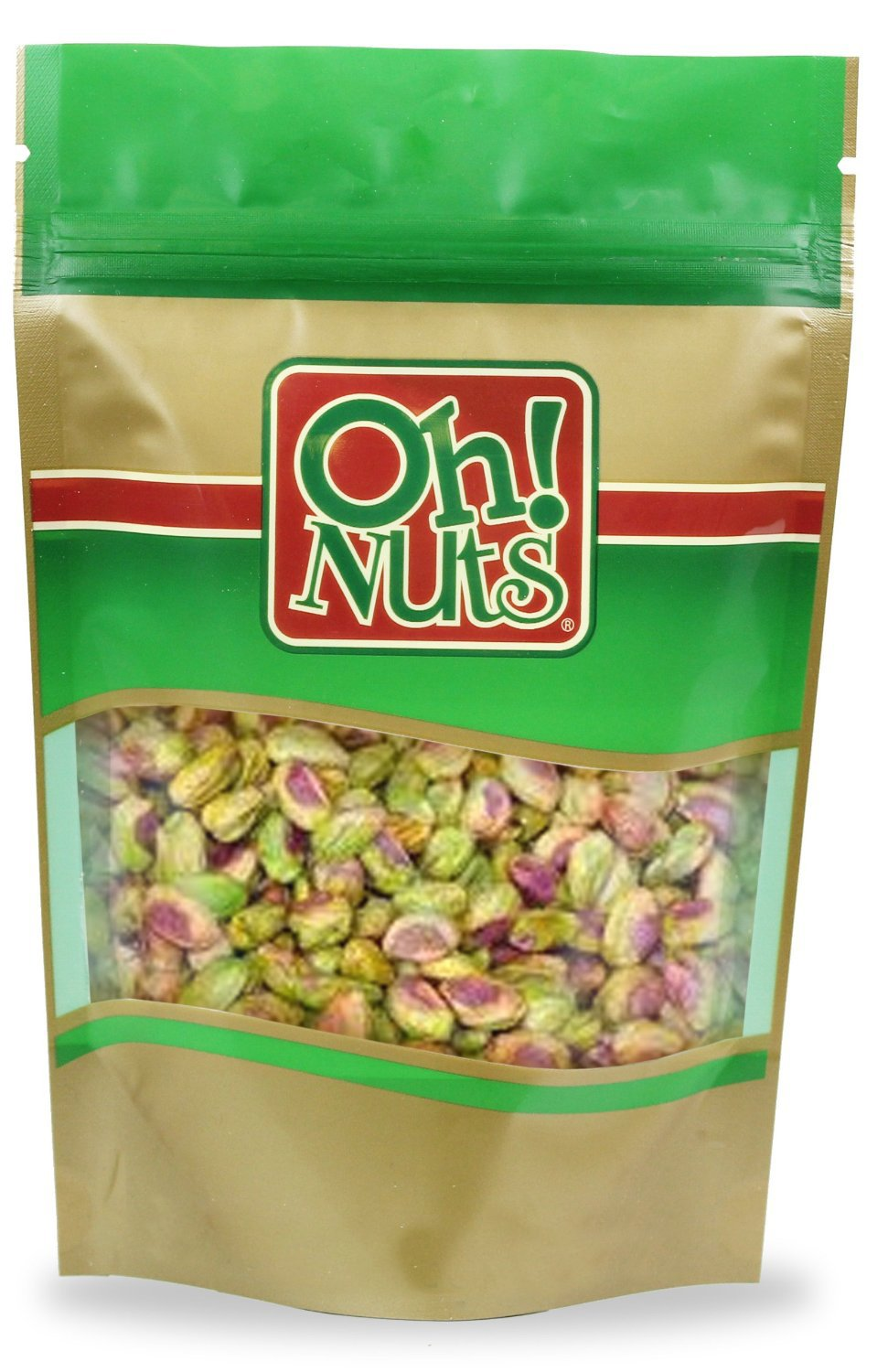 Shelled Raw Pistachios (5 Pound Bag) - Oh! Nuts
