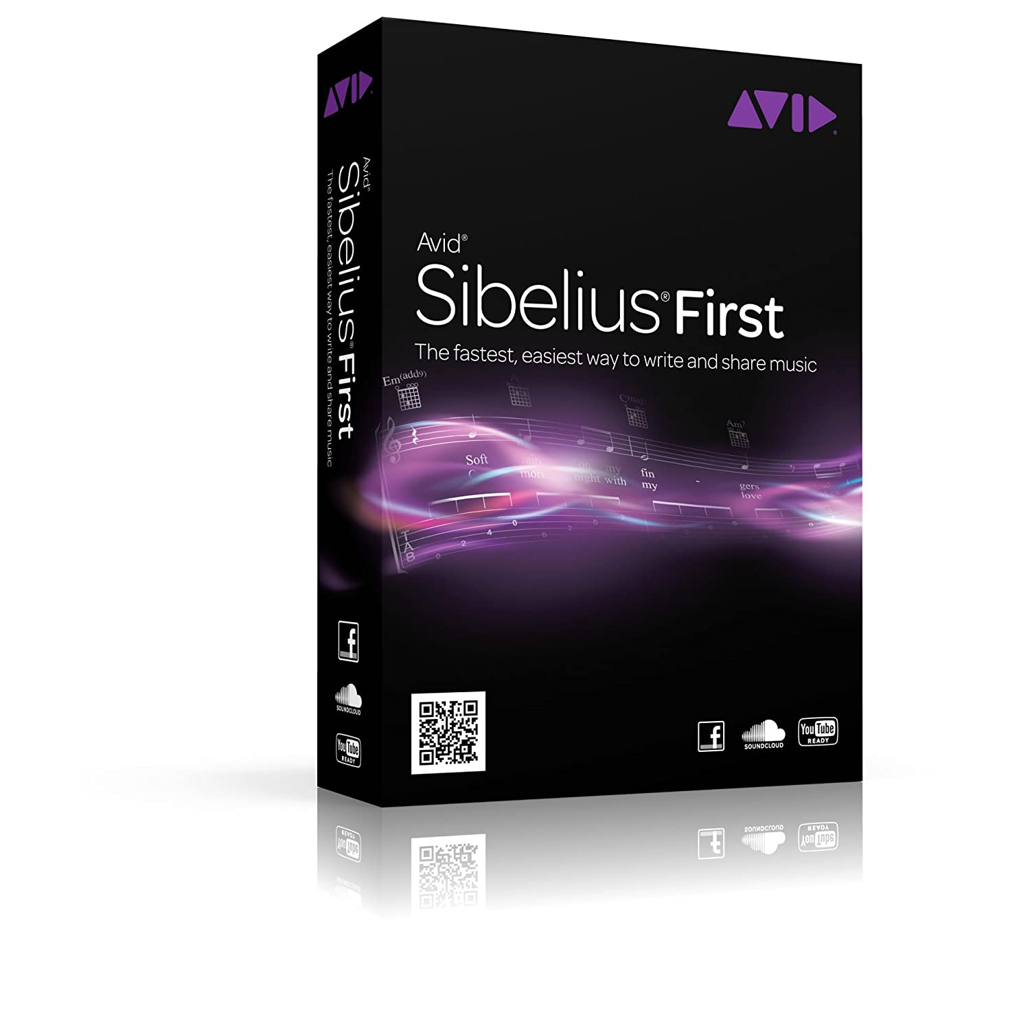 Sibelius First 7 Avid Software 9900-65251-00
