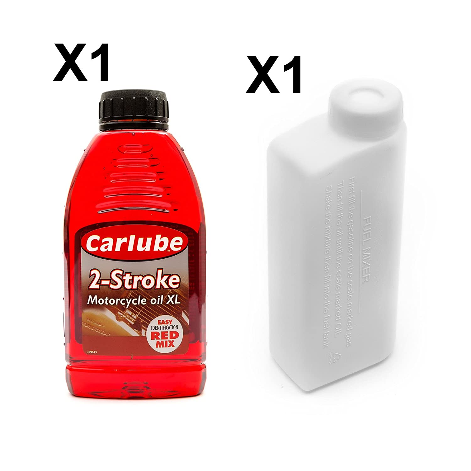 2 Stroke Oil + 500ml Mixing Bottle Mini Midi Moto Dirtbike Quadbike ATV Racing Dirt Bike Petrolscooter