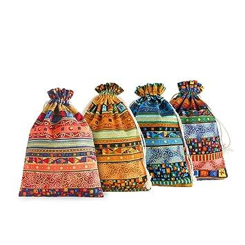 Amazon.com: SumDirect - 20 bolsas de regalo de algodón ...