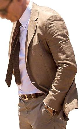 2a2fca8fd49e NMFashions Spectre James Bond Brown Suit at Amazon Men s Clothing store