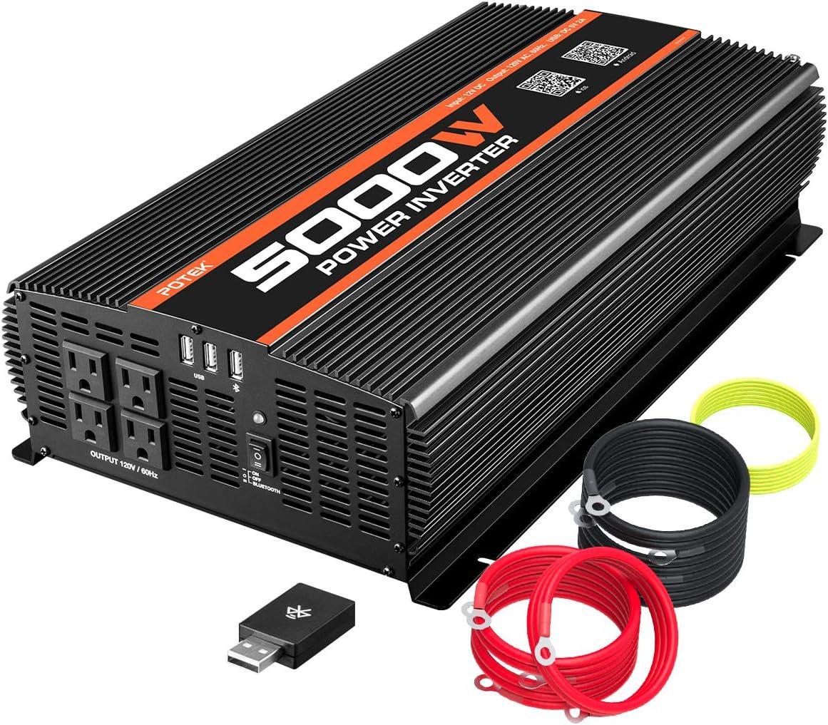 POTEK 5000W Power Inverter