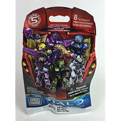 Halo Series 5 Blind Bag Mini Figure by Mega Bloks